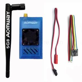 Tx 5.8ghz 1000mw Aomway Fpv Drone Transmissor De Video 6km