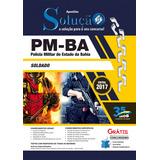 Material Impresso Pm-ba 2017 - Soldado Da Policia Militar