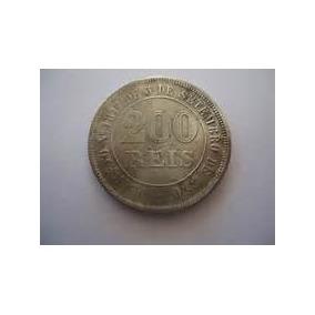 Linda Moeda De 200 Reis Do Ano De 1882 (niquel)