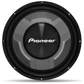 Subwoofer Pioneer 12 Pol 600w Ts-w3060br 350w Rms Cara Preta