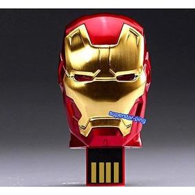 Pen Drive Homem De Ferro 3 32gb Iron Man Frete Grátis