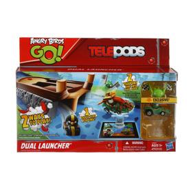 Angry Birds Go! Telepods Lanzador Doble - Giro Didáctico To