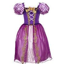Vestido Rapunzel Enredados Hermoso Envio Gratos