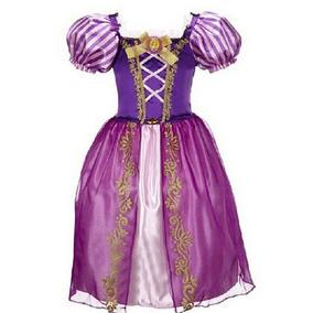Vestido Rapunzel Enredados Hermoso Envio Gratis