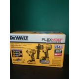 Kit Dewalt Flexvolt Con Cargador 220v