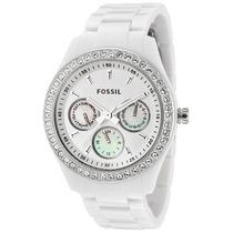 Reloj Fossil Es1967 Original Mujer En Caja Blanco Nuevo