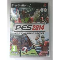 Pes 2014 Ps2 Game - Frete Grátis