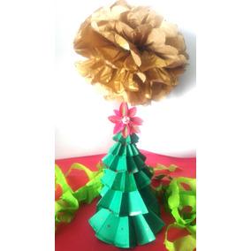 Mini Árvore De Natal Em Papel, Decoração, Enfeite, Natal