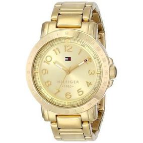 Reloj Tommy Hilfiger Dorado Femenino