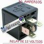 Relay Tipo Bosch De 5 (pines) De 20 A 30 Amp