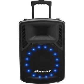 Caixa Amplificada Multiuso Oneal Omf410 Omf 410 Cm Microfone