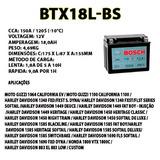 Bateria Selada Bmw 1100 R1100 Gs/s Bosch Btx18l-bs