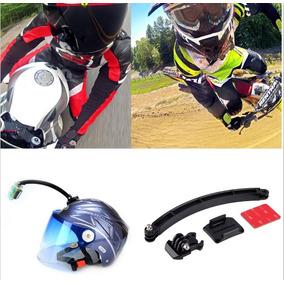 Kit Para Casco Gopro Mount Bici Moto Hero 3 3+ 4 5 Extensión