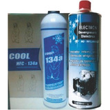 Limpiador Electron + Refrigerante R134a