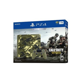 Ps4 Slim 1tb Camuflado Call Of Duty Ww 2 Limited Edition