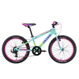 Bicicleta Alubike K20 Girl Rodada 20 Y 7 Velocidades 2018