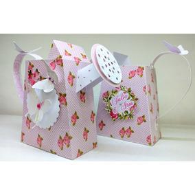 Cajas Porta Golosinas O Souvenir Shabby Chic En Papel 220grs