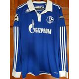 Jersey Schalke 04 Raul Manga Larga Talla M