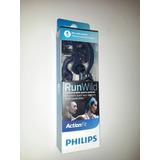 Audífonos Philips Shq1405bl Run Wild Action Fit