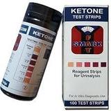 Medidor De Cetonas En Orina Tipo Ketostix/ Ketone Test Strip