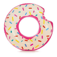 Boia Donuts Inflável Praia Piscina Homer Simpson Anel 70cm