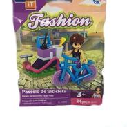 Kit C/ 4 Modelos Brinquedo P Montar Click It Fashion