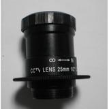 Vigilancia Seguridad Cctv Lente Camara 25mm 1/2 C F:1.4