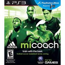 Adidas Micoach - Jogo Ps3 - Exercicios Fisicos - Em Disco