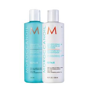 Kit Moroccanoil Shampoo Condicionador Moisture Repair 250 Ml