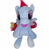 Mochila Peluche Little Pony 27 Cm Rainbow Dash Navidad