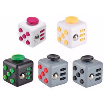 Cubo Anti Stress Fidget Cube Ansiedad -tipo Spinner