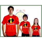 Camiseta Personalizada Dia Dos Pais- Pai Incírivel