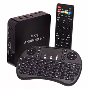 Google Tv Box Quad Android 6.0 Smart + Mini Teclado Touch