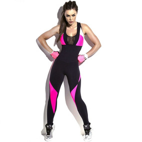 Jumpsuit Enterizo Jumper Traje Deportivo Sport Gym Yoga Pant