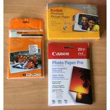 Papel Fotografico 4 X 6 (10 X15) 3 Packs
