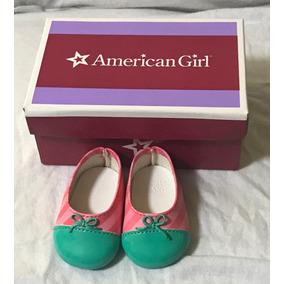Zapatos Tacon Bajo Muñeca American Girl Truly Me Accesorios