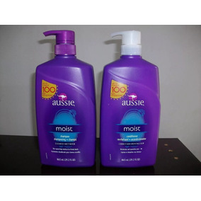 Kit Shampoo + Condicionador Aussie Moist 865ml - Original