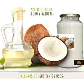 Aceite De Coco Extra Virgen Prensad En Frío 100% Nat 440 Ccc