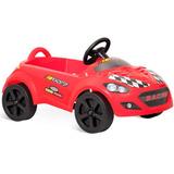 Carro Bandeirante Roadster A Pedal Volante C Buzin Vermelho