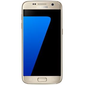 Samsung Galaxy S7 32gb Dourado Mto Bom Seminovo C/ Garantia