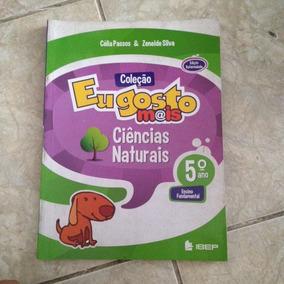 Livro Coleção Eu Gosto Mais Ciências Naturais 5ª Ano 2012