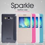 Case Carcasa Protecor Con Tapa Nillkin: Sparkle Samsung A5