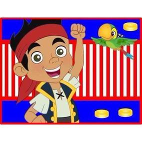 Kit Imprimible Jake Y Los Piratas Del País De Nunca Jamas