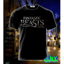 Playera O Camiseta Coleccion Animales Fantasticos Harry Pott