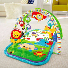 Gimnasio Manta Musical Para Bebe Fisher Price + Envio