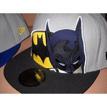 Gorra New Era Batman Vs Superman Skate Liga De La Justicia!
