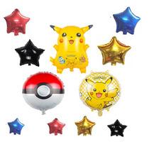 Paquete Globos Picachu, Pokemón, Globo Estrella