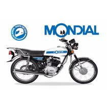 Moto Mondial 125cc Tipo Cg 0km 1 Año De Gtia. Varios Colores