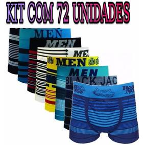 Kit Revenda Atacado 72 Cuecas Boxer/box Barato