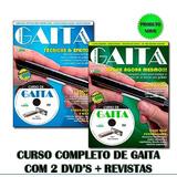 Curso Gaita Harmonica Completo 2 Dvds + Revistas Video Aulas